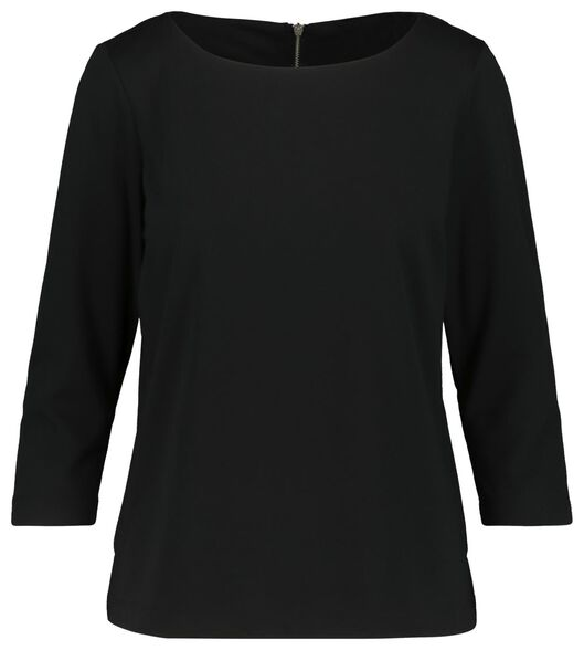 women's top black black - 1000019250 - hema