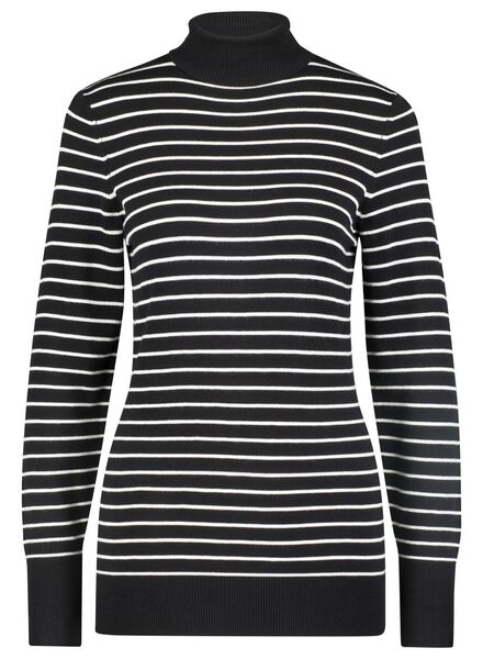 Damen-Rolli schwarz/weiß schwarz/weiß - 1000015663 - HEMA