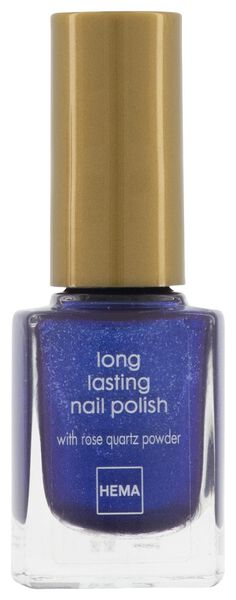 vernis à ongles longlasting metallic midnight blue - 11240053 - HEMA
