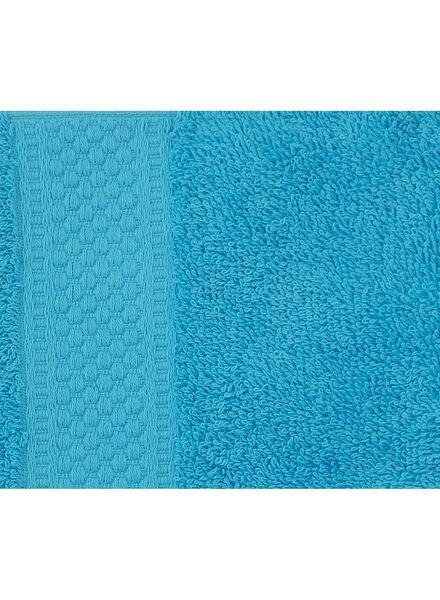 serviette de bain - 50x100 cm - qualité épaisse - aqua - 5212605 - HEMA