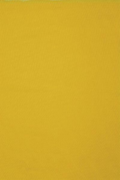 écharpe femme 200x80 froissé jaune - 1780043 - HEMA