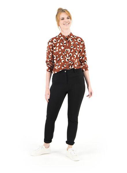 Damen-Bluse braun braun - 1000016854 - HEMA