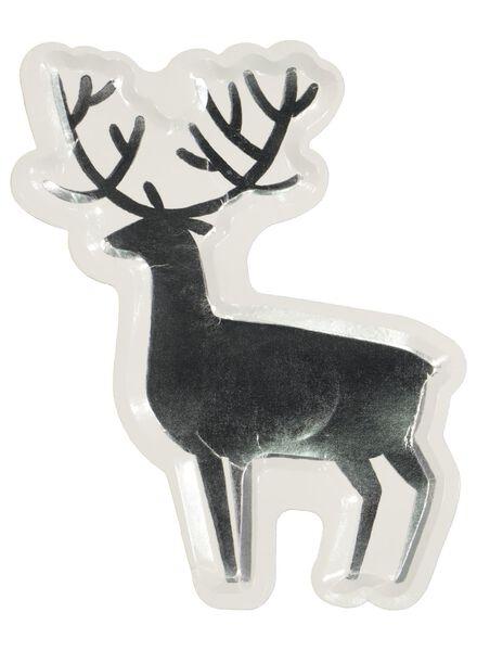 10er-Pack weihnachtliche Pappteller, 22 x 18 cm - 25600083 - HEMA