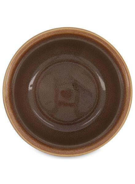 pot de fleurs Ø 13.5 cm - vernis réactif - brun - 13392081 - HEMA