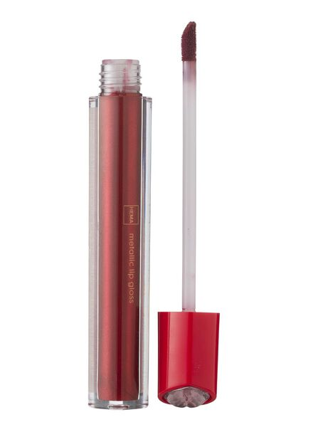 lipgloss metallic red - 11230004 - HEMA