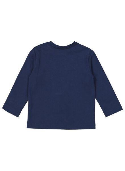 Baby-Weihnachtspyjama dunkelblau dunkelblau - 1000016980 - HEMA