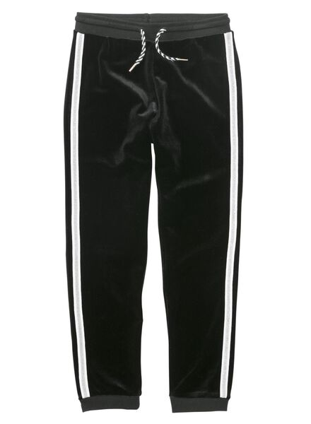 pantalon sweat enfant noir noir - 1000011487 - HEMA