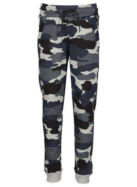 pantalon sweat enfant bleu bleu - 1000014902 - HEMA