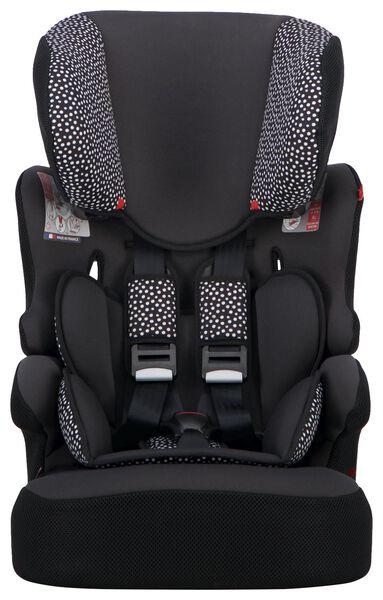 siège auto évolutif 9-36kg pois noirs/blancs - 41700007 - HEMA