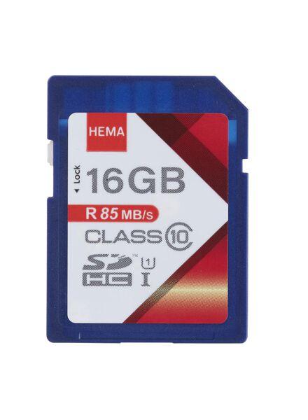 carte mémoire SD 16 Go - 39520008 - HEMA