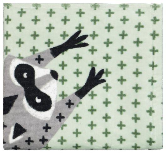 towel - velvet - 50x100 - raccoon - 5210118 - hema