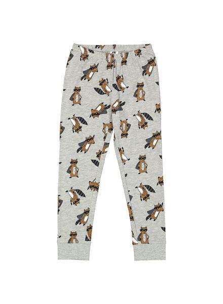 pyjama enfant gris gris - 1000014656 - HEMA
