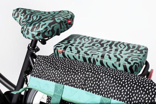 coussin pour porte-bagage 32x16x4 vert - 41120008 - HEMA