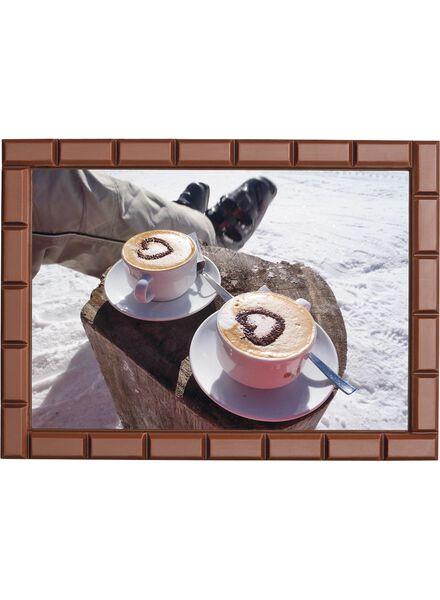 cadre en chocolat avec photo - 6380003 - HEMA
