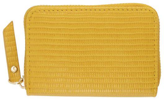 HEMA Portemonnaie, 8 X 11 Cm, Gelb