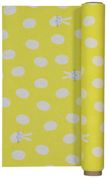 Tischläufer – 480 x 40 cm – Papier – gelb - 25810098 - HEMA