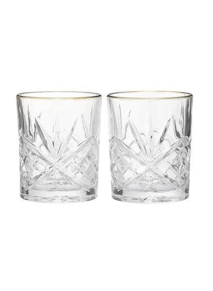 2er-Pack Whiskeygläser - 60080119 - HEMA