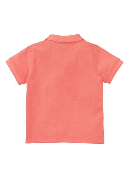 baby polo shirt orange orange - 1000007280 - hema