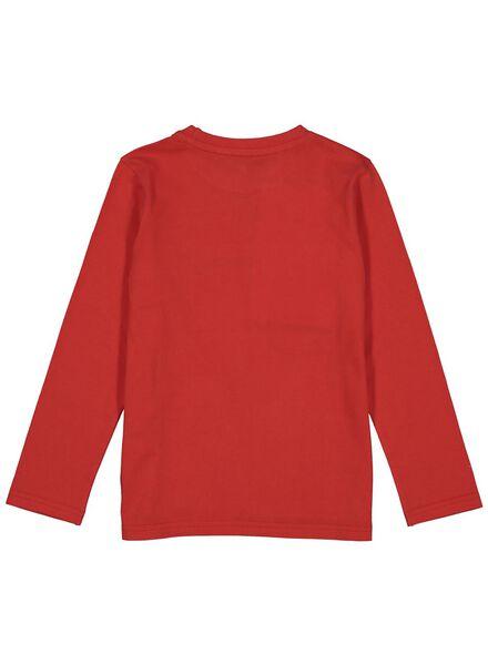 t-shirt enfant rouge rouge - 1000013770 - HEMA