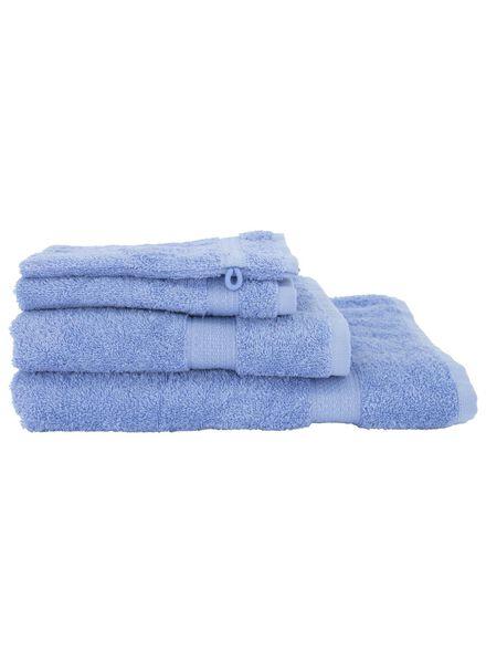serviette de bain - qualité épaisse bleu bleu - 1000018400 - HEMA