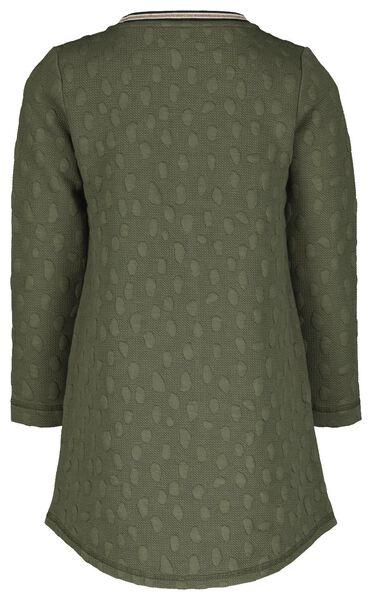 Kinder-Kleid graugrün 134/140 - 30808953 - HEMA