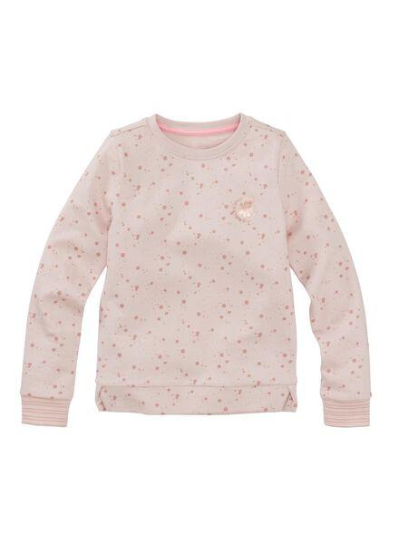 children's sweatshirt light pink light pink - 1000006037 - hema