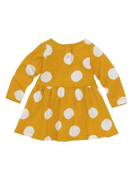 7d0b52e0fd2 babyjurk geel - HEMA