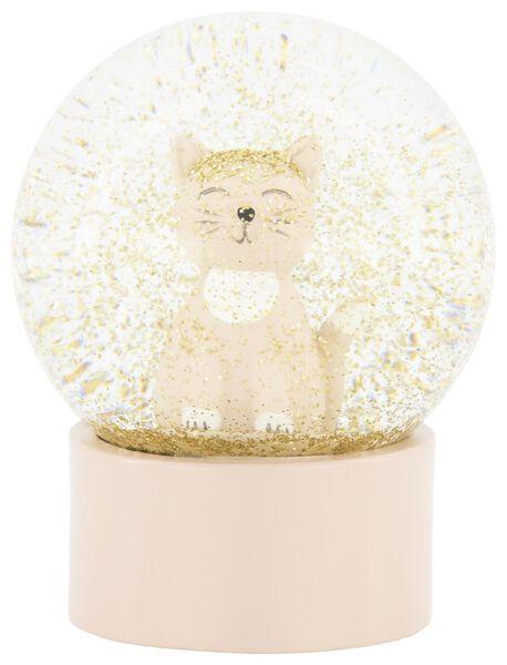 Schneekugel, Ø 8 cm, Katze - 61122851 - HEMA