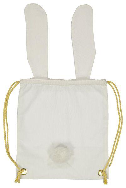 sac à dos coton lapin 38x34 - 25800165 - HEMA