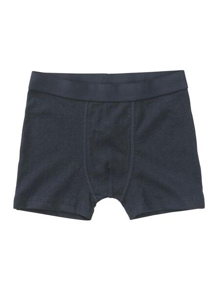 3 boxers enfant bleu bleu - 1000011775 - HEMA