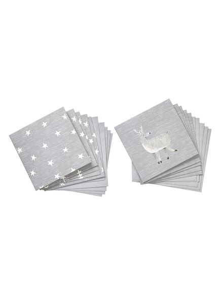 10-pack Christmas cards - 25320107 - hema