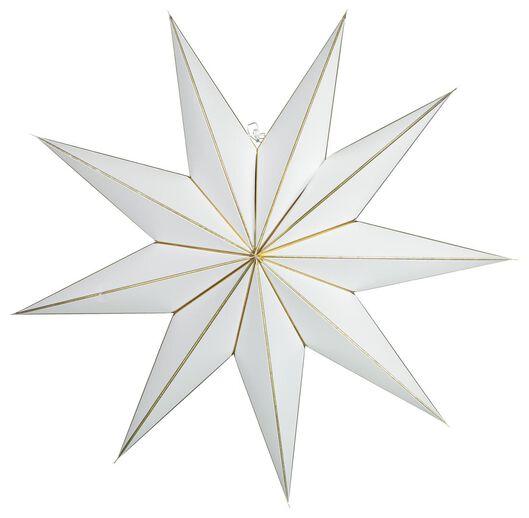 Image of HEMA Christmas Star Paper Ø100cm White (gold)