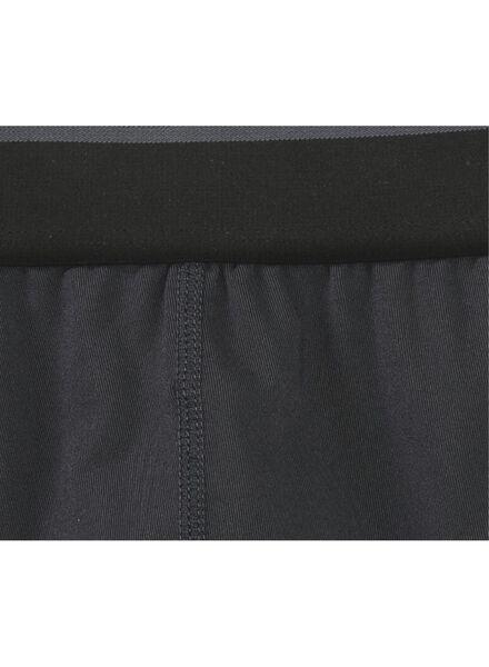 2-pack men's boxers - microfibre black/white black/white - 1000006496 - hema