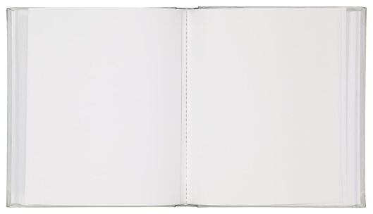 Fotoalbum, 25 x 21.5 cm, silbern - 14633307 - HEMA