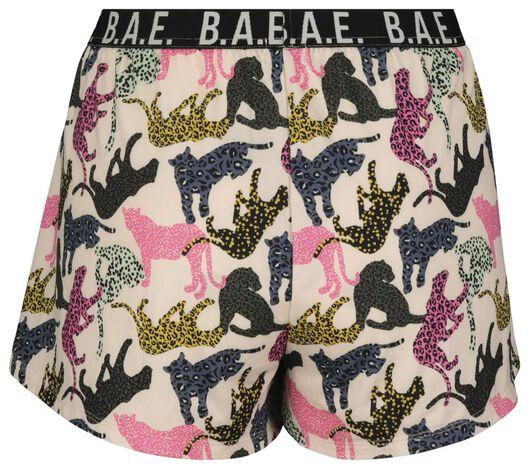 B.A.E. women's night shorts light pink light pink - 1000018764 - hema