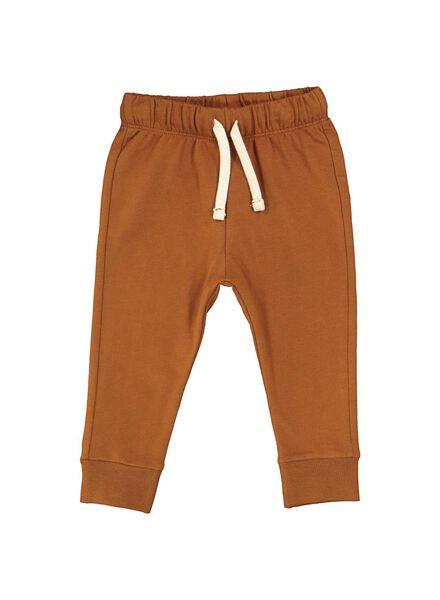 pantalon sweat bébé marron marron - 1000014708 - HEMA
