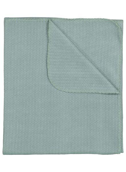 plaid tissu polaire - 130 x 150 - vert - 7392001 - HEMA