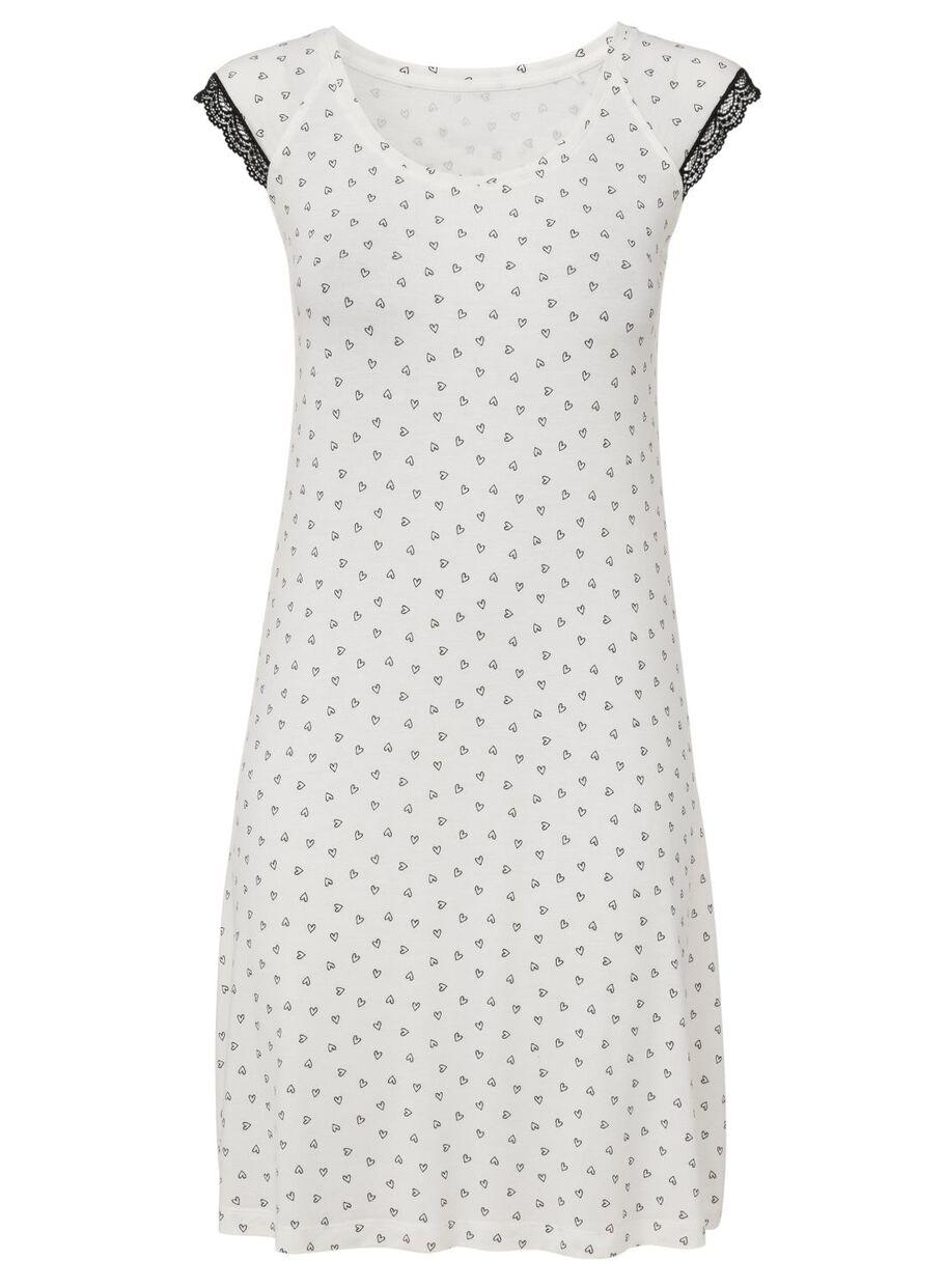 74a956ae254 images women's nightshirt white white - 1000008531 - hema