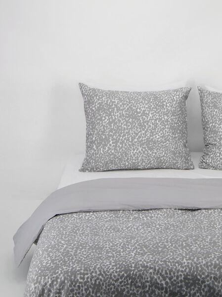 housse de couette - coton doux - taches gris gris - 1000021830 - HEMA