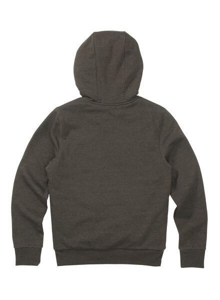 men's sweatshirt cardigan army green army green - 1000009594 - hema