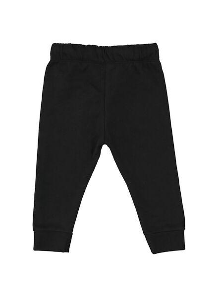 baby sweatbroek zwart zwart - 1000014706 - HEMA