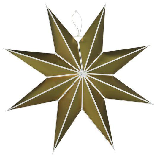 Image of HEMA Christmas Star Paper Ø70cm Gold (gold)