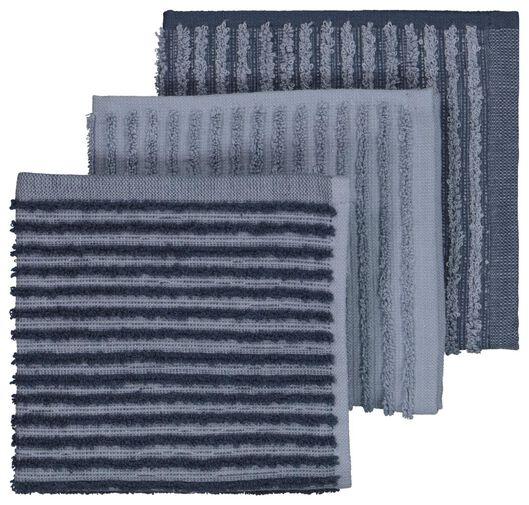 Image of HEMA 3 Dishcloths 30x30 Cotton