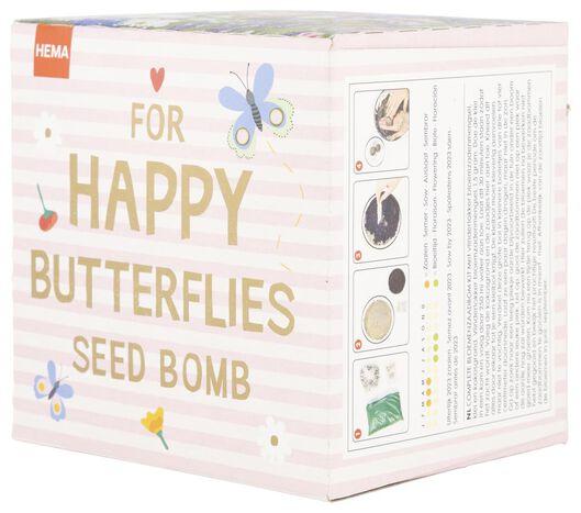flower seed bomb kit butterflies - 41810093 - hema