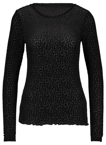 women's top black black - 1000017420 - hema