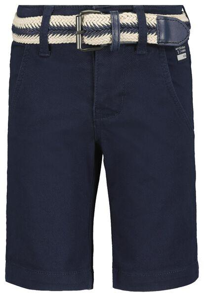 children's shorts comfy fit dark blue dark blue - 1000018943 - hema