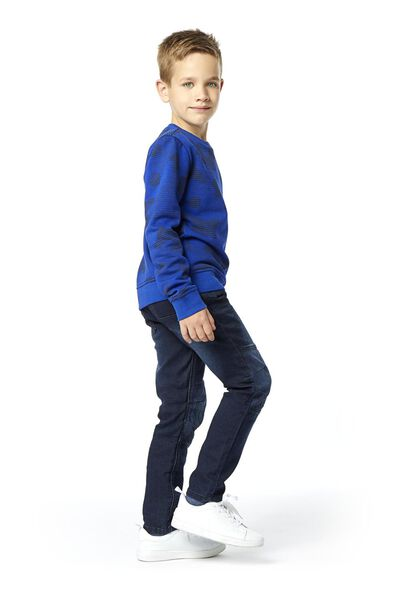 children's jog denim trousers regular fit dark denim dark denim - 1000018061 - hema