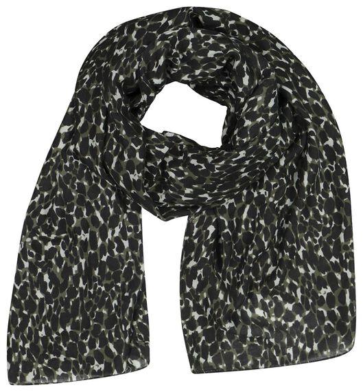 écharpe femme 200x80 taches - 1790023 - HEMA