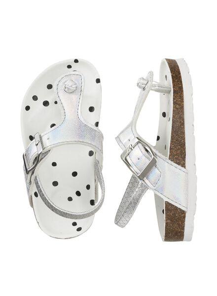 children's flip-flops silver silver - 1000006476 - hema