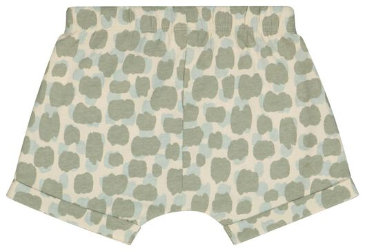 2er-Pack Baby-Shorts, Dinosaurier grau grau - 1000023841 - HEMA